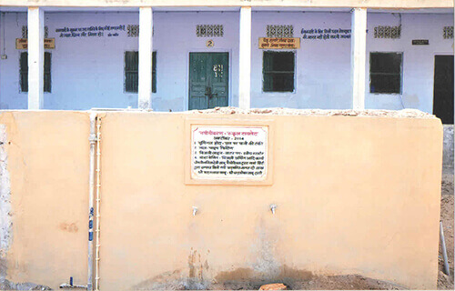 Construction of Classrooms and Toilets in Schools