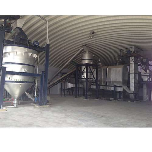 Salt and Mineral Processing Plant